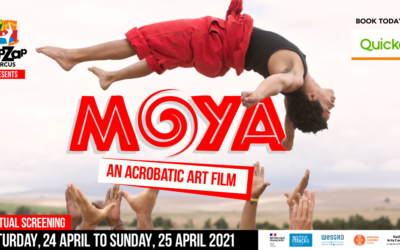 This is Zip Zap reinvented – Introducing MOYA | FILM – Acrobatic Art Film